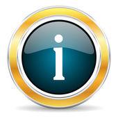 Icona informazioni — Foto Stock