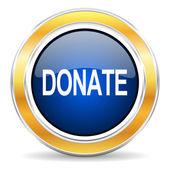 Donate icon — Stock Photo