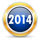 Yıl 2014 simgesi — Stok fotoğraf