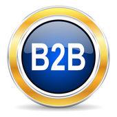 B2b icon — Stock fotografie