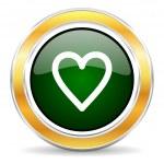 Heart icon — Stock Photo #42693465