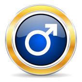 Mężczyzna ikona — Zdjęcie stockowe