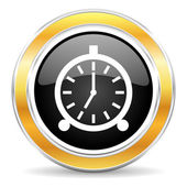Icono de la alarma — Foto de Stock