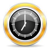 時刻のアイコン — ストック写真