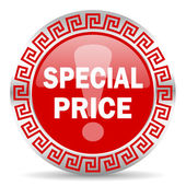 Special price icon — Stock Photo
