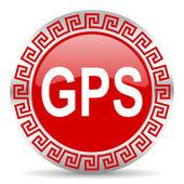 Gps icon — Stock Photo