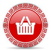 Cart icon — Stock Photo