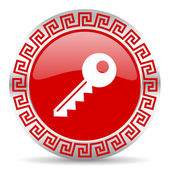Key icon — Stockfoto