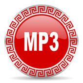 Ikona mp3 — Zdjęcie stockowe