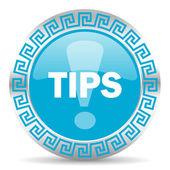 Icona di consigli — Foto Stock