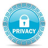 Privacy icon — Stock Photo