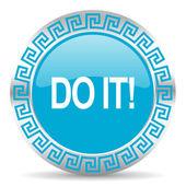 Do it icon — Foto de Stock