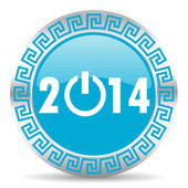Year 2014 icon — Stockfoto