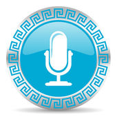 Microphone icon — Foto Stock