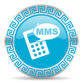Mms icon — Stockfoto