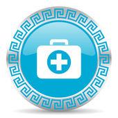 Icona di primo soccorso — Foto Stock