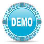 Demo icon — Foto Stock