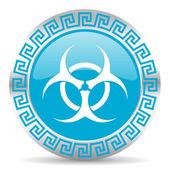 Icono de biohazard — Foto de Stock