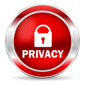 Privacy icon — Foto de Stock