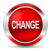 Change icon — Foto de Stock