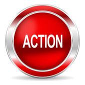 Action icon — Zdjęcie stockowe