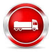 ícone de caminhão — Fotografia Stock