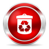 Recycle icon — 图库照片