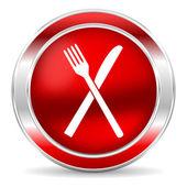 Restaurang ikonen — Stockfoto