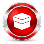 Box icon — Stock Photo