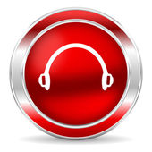 Headphones icon — Foto de Stock