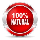 Natural icon — Stock Photo