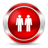 Couple icon — Stockfoto