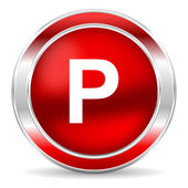 Parking icon — Foto de Stock