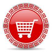 Cart icon — Stock Photo