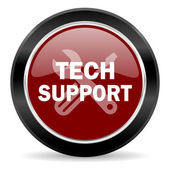 Technical support icon — Stock Photo