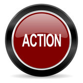 Action icon — Foto de Stock