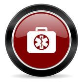 Rescue kit ikona — Stock fotografie