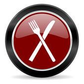 レストラン アイコン — ストック写真
