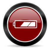 Battery icon — Stock Photo