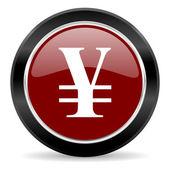Icône d'yen — Photo