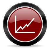 Ícone de gráfico — Fotografia Stock