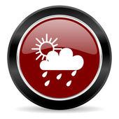 Icona di pioggia — Foto Stock
