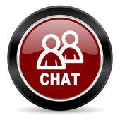 Konverzaci ikona — Stock fotografie