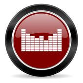 Ícone de som — Fotografia Stock