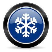 Snow icon — Стоковое фото