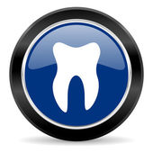 Tooth icon — Stock Photo