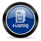 Learning icon — Stock Photo