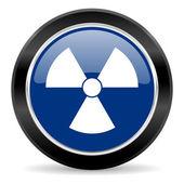 放射線のアイコン — ストック写真
