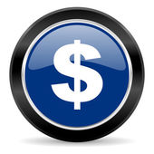 Dollar icon — Stock Photo