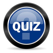 Quiz-pictogram — Stockfoto